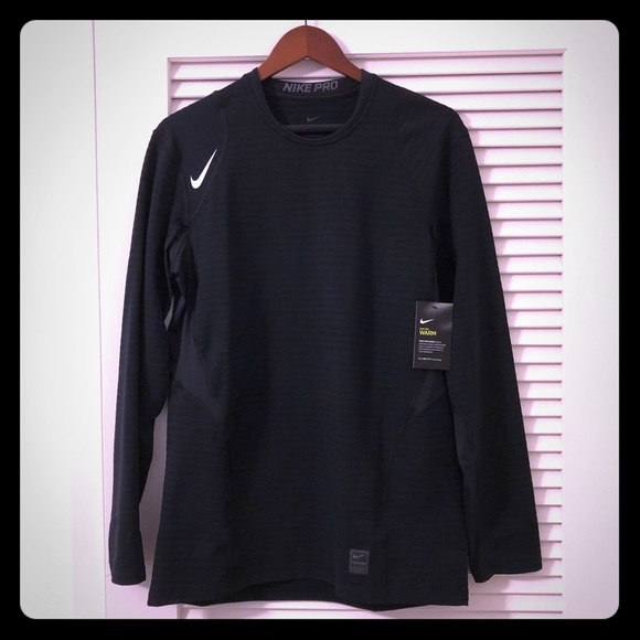 Nike Pro Warm Men s Long Sleeve Training Top caf61b6de